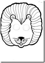 mascara león blogcolorear-com (5)