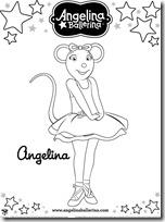 angelina ballerina colorear  blogcolorear-com (5)