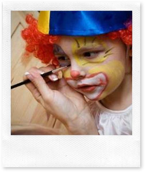 maquillaje de payaso blogcolorear