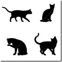 silueta de gato blogdeimagenes  (9)