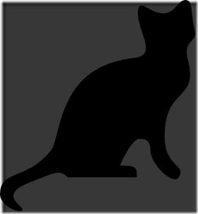silueta de gato blogdeimagenes  (5)