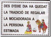 mocadorà 6 infantil castell
