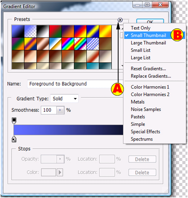 Gradient Editor Small Thumbnail