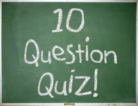 10 Question Quiz Board