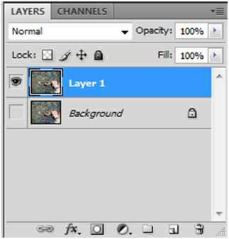 Layer palette