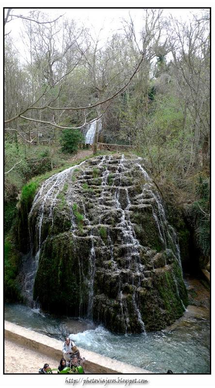 Cascada de los fresnos