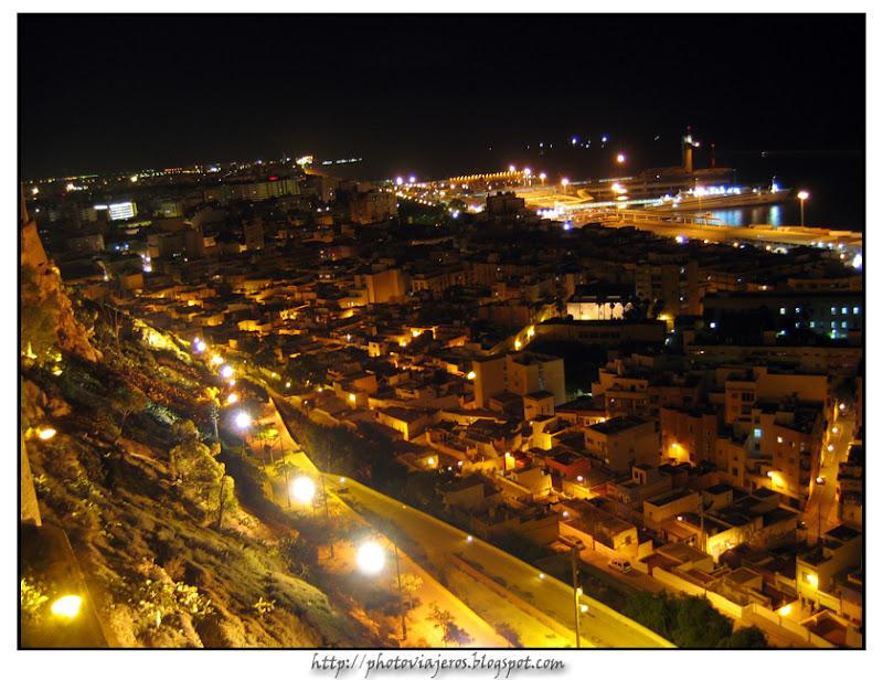 Almeria desde la Alcazaba