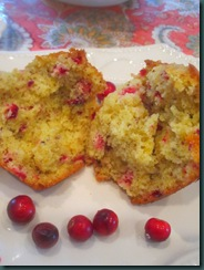cranberry muffins and spritzer 073