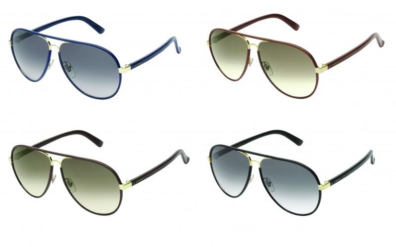 Gucci Sunglasses Leather Frames  gucci presents new leather sunglasses eyewear news sunglasses