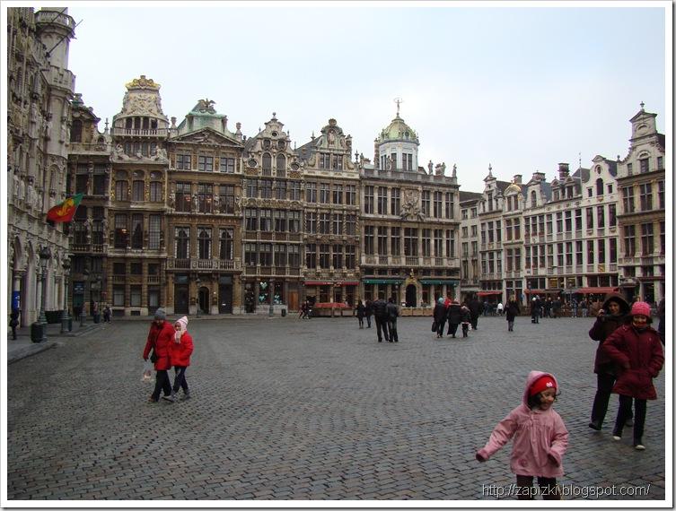 Здания Гильдий на западной стороне Grand Place