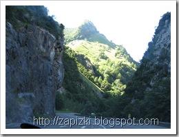 Серпантины в Пиренеях