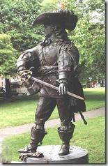 Памятник Д,Артаньяну в Маастрихте