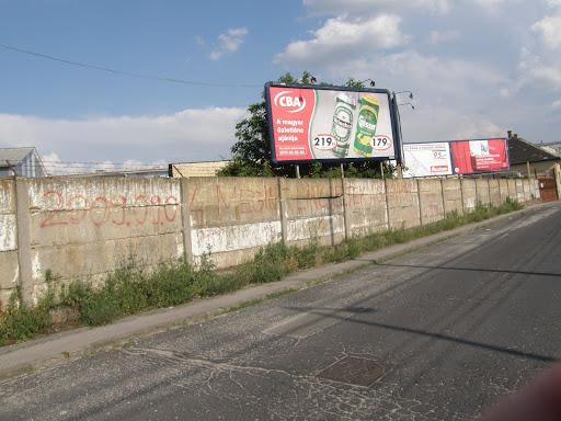 street-art,  falfirka,  Budapest,  Helsinki út, cigányok,  úszítás