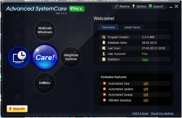 Advanced System Care Home