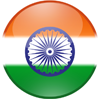 free Indian Tiranga Flag Tricolor flag circle vector icon psd logo image download