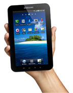 GADGET Samsung Launches Galaxy Tab vs iPad Alternative-Tablet Runs Android Froyo OS  image