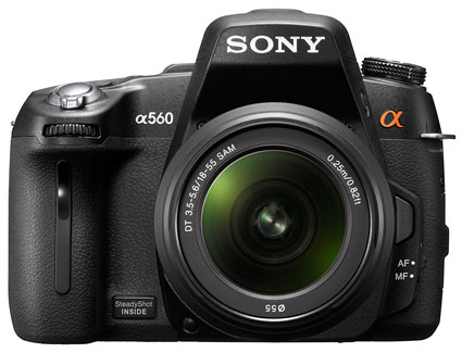 Sony's New High Performance HD DSLR A560, A580 with 3D sweep Panorama Unveiled image