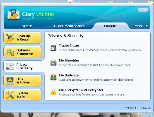 Glary Utilities-Ultimate System Maintenance & Security Solution-Download Free