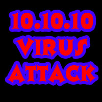 10/10/10 10:10:10 pm/am -virus attack+windows+mac+linux+twitter+facebook+linkdin+orkut+xss+script+malware+hacker+attack+hijacking image icon free download antivirus greenPoision jailbreak