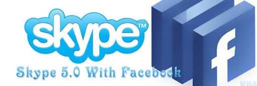 Skype 5.0 With Massive Facebook Integration, Also available for Android image logo
