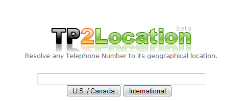 TP2Loaction-Trace Location of International Phone Number [How To], enter the number