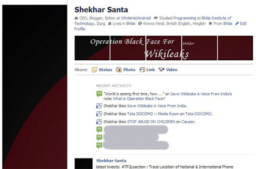Operation #BlackFace By Wikileaks & Julian Assange Supporters On Facebook And Other Social Networks