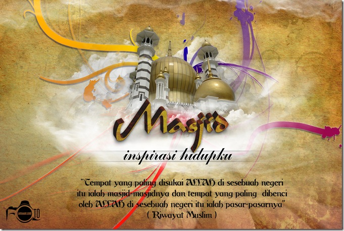 masjid kreatif with logo