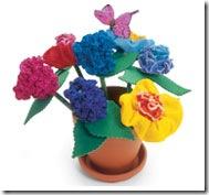flower pot pencils