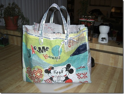 mickey fused bag