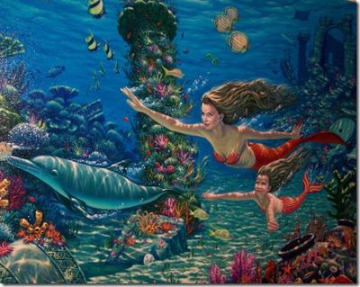 swim with mermaids
