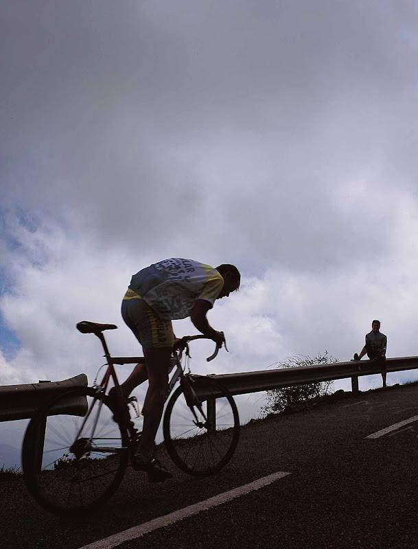 Subida a L´Angliru en Bici