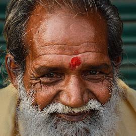 Ratan Baba by Rakesh Syal - People Portraits of Men