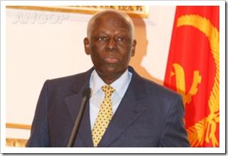 jose eduardo dos santos presidente de angola 2011