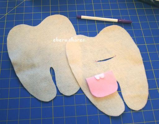 Как сделать зуб своими руками