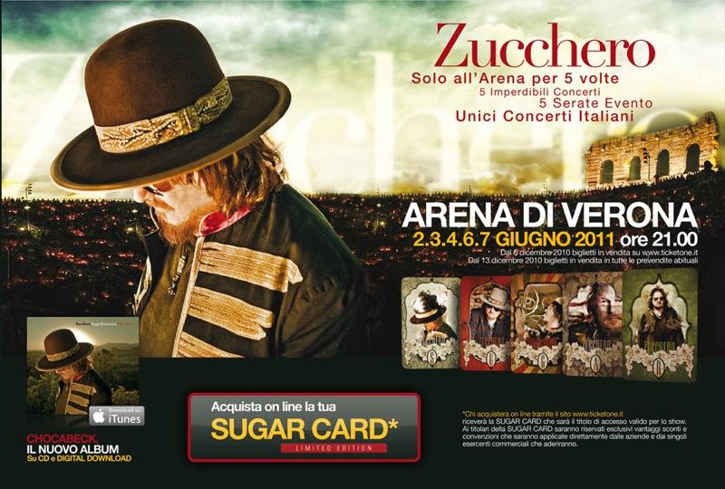 Zucchero concerto Arena 2011