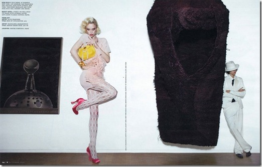 Editorial Art e Comerce W Magazine out 2009 7