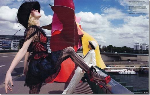 Editorial Art e Comerce W Magazine out 2009 11