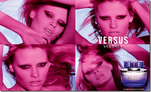 Lara Stone for Versus