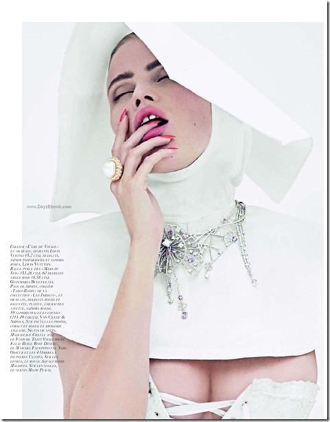 La Tentation du Diamant with Lara stone by Cedric Buchet for Vogue Paris 3