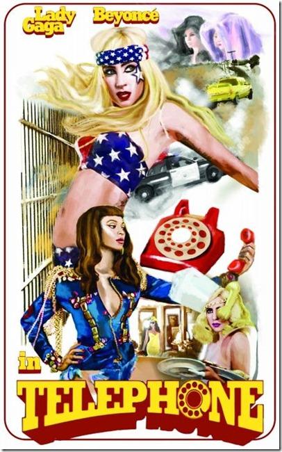 lady gaga e beyonce telephone imagem hq more freak show blog 1