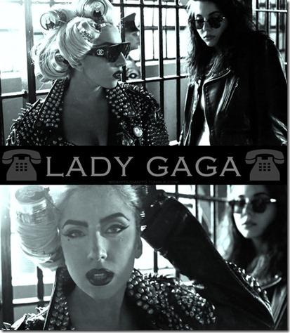 lady gaga e beyonce telephone imagem hq more freak show blog 4
