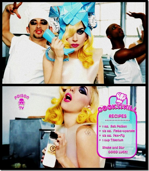 lady gaga e beyonce telephone imagem hq more freak show blog 10