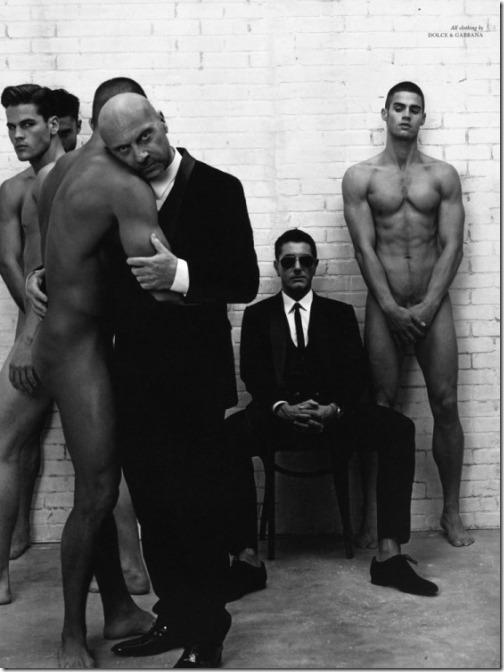 Domenico Dolce e Stefano Gabbana dolce e gabbana luxo moda gay