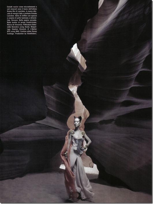 Vogue Italia beauty editorial arte, more freak show blog (7)