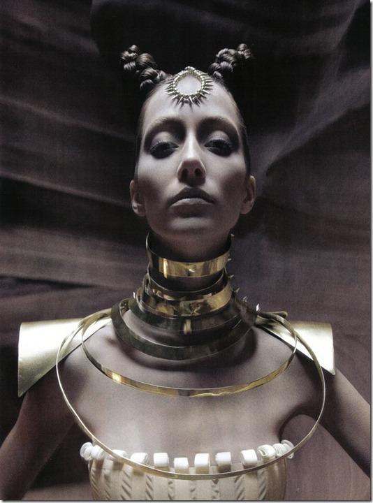 Vogue Italia beauty editorial arte, more freak show blog (8)
