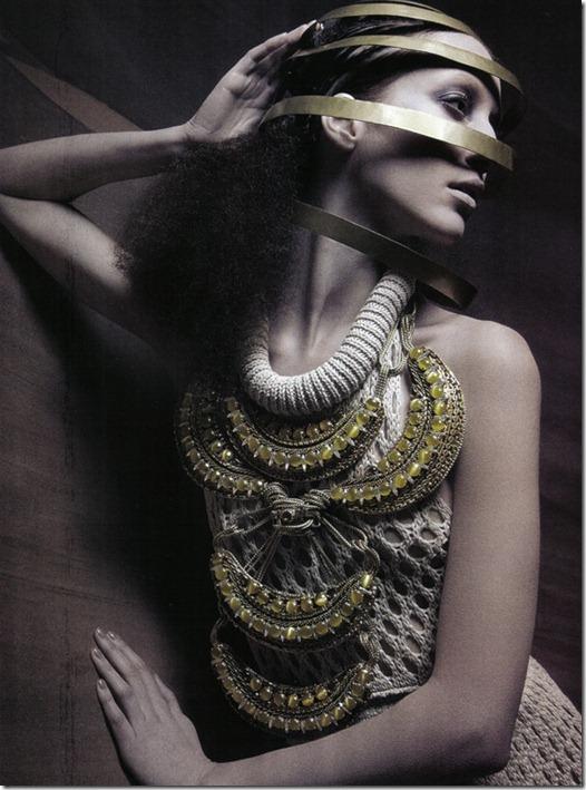 Vogue Italia beauty editorial arte, more freak show blog (6)