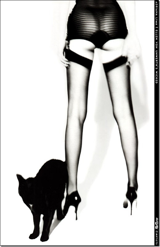 Adriana Lima livro Wicked by Ellen Von Unwerth  (1)