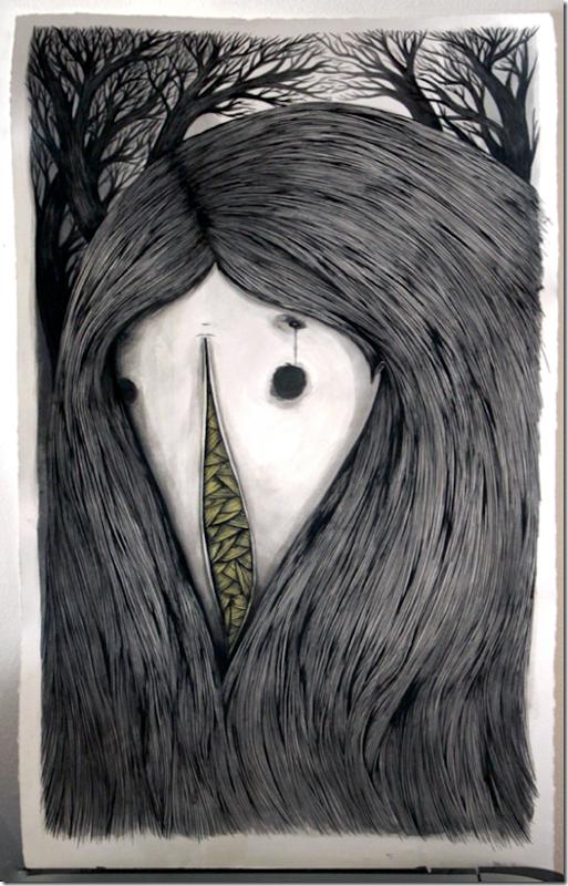 Ilustrações Jordan Metcalf more freak show blog (1)