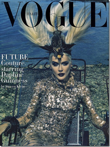 The Honourable Daphne Guinness Vogue Italia  (1) Steven Klein Fotos Hq