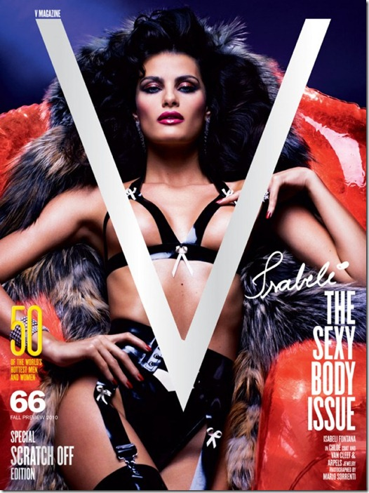 V magazine cover   The Sexy Body Issue1 sabeli Fontana, Adriana Lima, Lily Donaldson, Eniko Mihalik e Natasha Poly  (3)
